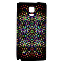 The Flower Of Life Galaxy Note 4 Back Case by BangZart