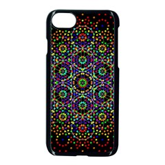 The Flower Of Life Apple Iphone 7 Seamless Case (black)