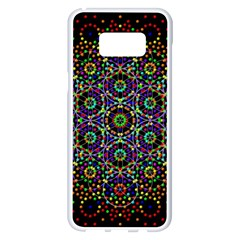 The Flower Of Life Samsung Galaxy S8 Plus White Seamless Case by BangZart
