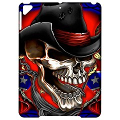 Confederate Flag Usa America United States Csa Civil War Rebel Dixie Military Poster Skull Apple Ipad Pro 9 7   Hardshell Case
