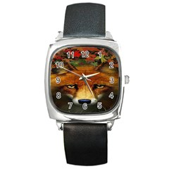 Fox Square Metal Watch