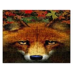Fox Rectangular Jigsaw Puzzl