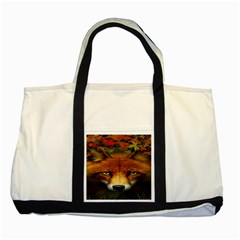 Fox Two Tone Tote Bag