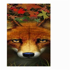 Fox Small Garden Flag (two Sides)