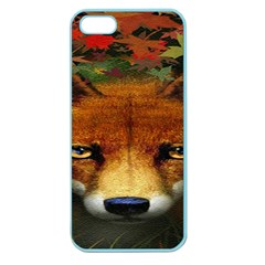 Fox Apple Seamless Iphone 5 Case (color)