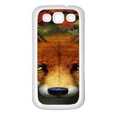 Fox Samsung Galaxy S3 Back Case (white)
