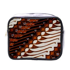 Traditional Batik Sarong Mini Toiletries Bags