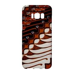 Traditional Batik Sarong Samsung Galaxy S8 Hardshell Case  by BangZart