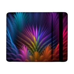 Colored Rays Symmetry Feather Art Samsung Galaxy Tab Pro 8 4  Flip Case by BangZart