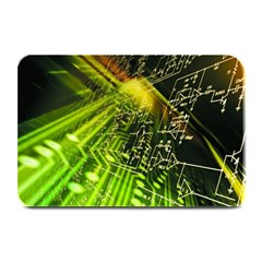 Electronics Machine Technology Circuit Electronic Computer Technics Detail Psychedelic Abstract Patt Plate Mats