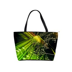 Electronics Machine Technology Circuit Electronic Computer Technics Detail Psychedelic Abstract Patt Shoulder Handbags