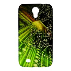 Electronics Machine Technology Circuit Electronic Computer Technics Detail Psychedelic Abstract Patt Samsung Galaxy Mega 6 3  I9200 Hardshell Case by BangZart