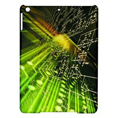 Electronics Machine Technology Circuit Electronic Computer Technics Detail Psychedelic Abstract Patt Ipad Air Hardshell Cases by BangZart