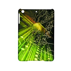 Electronics Machine Technology Circuit Electronic Computer Technics Detail Psychedelic Abstract Patt Ipad Mini 2 Hardshell Cases by BangZart