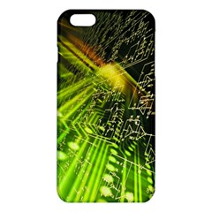 Electronics Machine Technology Circuit Electronic Computer Technics Detail Psychedelic Abstract Patt Iphone 6 Plus/6s Plus Tpu Case by BangZart