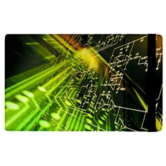 Electronics Machine Technology Circuit Electronic Computer Technics Detail Psychedelic Abstract Patt Apple Ipad Pro 9 7   Flip Case by BangZart