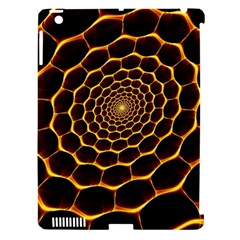 Honeycomb Art Apple Ipad 3/4 Hardshell Case (compatible With Smart Cover)
