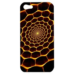 Honeycomb Art Apple Iphone 5 Hardshell Case