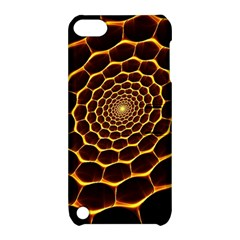 Honeycomb Art Apple Ipod Touch 5 Hardshell Case With Stand by BangZart