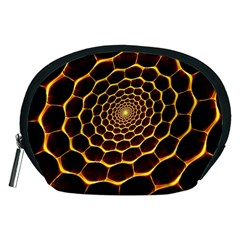 Honeycomb Art Accessory Pouches (medium)