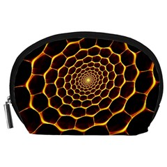 Honeycomb Art Accessory Pouches (large)