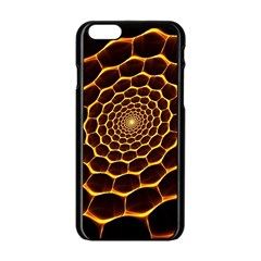 Honeycomb Art Apple Iphone 6/6s Black Enamel Case by BangZart