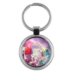Clouds Multicolor Fantasy Art Skies Key Chains (round)