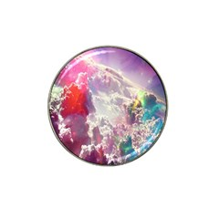 Clouds Multicolor Fantasy Art Skies Hat Clip Ball Marker (4 Pack)