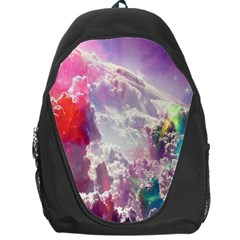 Clouds Multicolor Fantasy Art Skies Backpack Bag