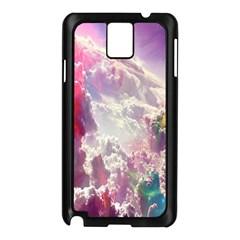 Clouds Multicolor Fantasy Art Skies Samsung Galaxy Note 3 N9005 Case (black)