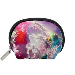 Clouds Multicolor Fantasy Art Skies Accessory Pouches (small)
