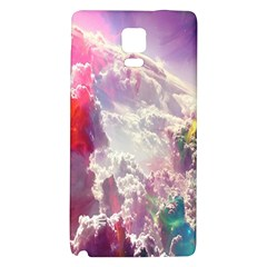 Clouds Multicolor Fantasy Art Skies Galaxy Note 4 Back Case