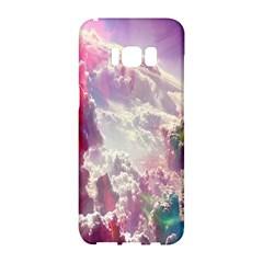 Clouds Multicolor Fantasy Art Skies Samsung Galaxy S8 Hardshell Case
