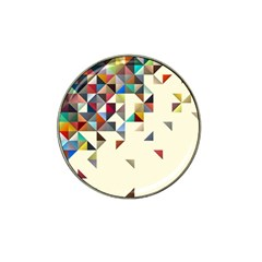 Retro Pattern Of Geometric Shapes Hat Clip Ball Marker (10 Pack) by BangZart