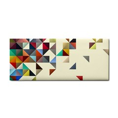 Retro Pattern Of Geometric Shapes Cosmetic Storage Cases by BangZart