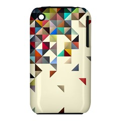 Retro Pattern Of Geometric Shapes Iphone 3s/3gs by BangZart