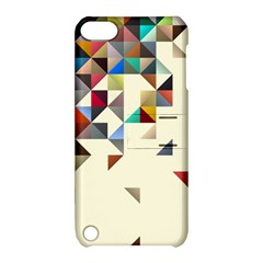 Retro Pattern Of Geometric Shapes Apple Ipod Touch 5 Hardshell Case With Stand by BangZart