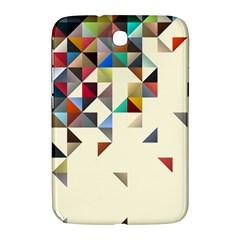 Retro Pattern Of Geometric Shapes Samsung Galaxy Note 8 0 N5100 Hardshell Case