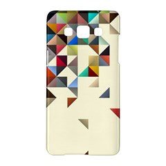 Retro Pattern Of Geometric Shapes Samsung Galaxy A5 Hardshell Case