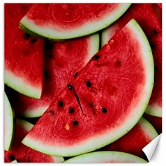 Fresh Watermelon Slices Texture Canvas 12  X 12