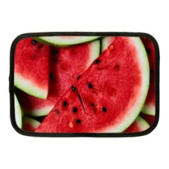 Fresh Watermelon Slices Texture Netbook Case (medium)