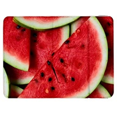 Fresh Watermelon Slices Texture Samsung Galaxy Tab 7  P1000 Flip Case