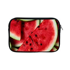 Fresh Watermelon Slices Texture Apple Ipad Mini Zipper Cases by BangZart