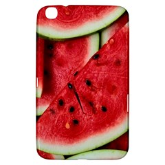 Fresh Watermelon Slices Texture Samsung Galaxy Tab 3 (8 ) T3100 Hardshell Case