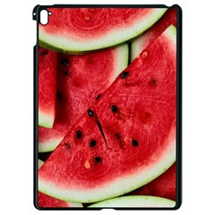 Fresh Watermelon Slices Texture Apple Ipad Pro 9 7   Black Seamless Case by BangZart