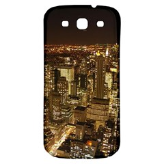 New York City At Night Future City Night Samsung Galaxy S3 S Iii Classic Hardshell Back Case