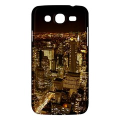 New York City At Night Future City Night Samsung Galaxy Mega 5 8 I9152 Hardshell Case  by BangZart