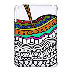 Abstract Apple Art Colorful Apple Ipad Mini Hardshell Case (compatible With Smart Cover) by Nexatart