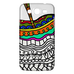 Abstract Apple Art Colorful Samsung Galaxy Mega 5 8 I9152 Hardshell Case  by Nexatart