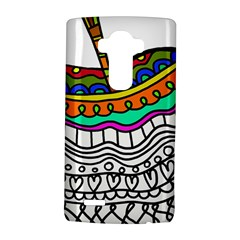 Abstract Apple Art Colorful Lg G4 Hardshell Case